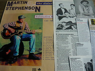 Martin Stephenson & The Daintees - Magazine Cuttings Collection (Ref Z14)