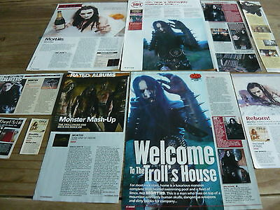 Mortiis - Magazine Cuttings Collection (Ref 3)