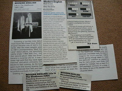 Modern English - Magazine Cuttings Collection