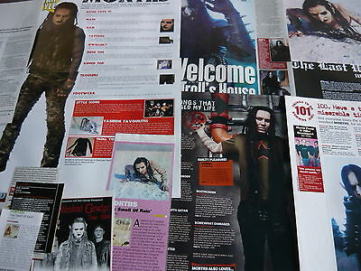Mortiis - Magazine Cuttings Collection (Ref Z9)