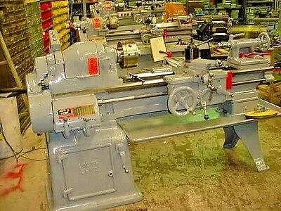 "1980 16"" X 32"" South Bend Toolroom Lathe With Taper & Camlock Spindle Video"
