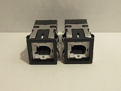 (Lot Of 2) Micro Switch Aml 10 Series 4.5-24V Push Button Switch New