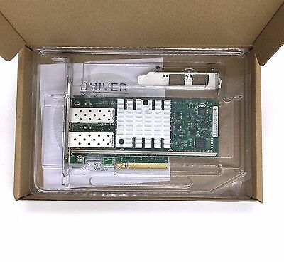 X520-DA2 Intel 10 Gigabit 10GBe SFP Dual Port Ethernet Server Network Adapter
