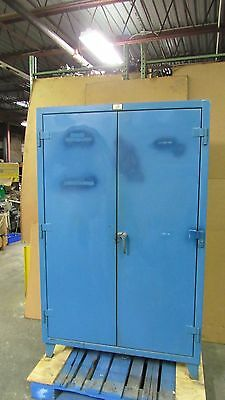"Strong Hold 48""x24""x72"" Stronghold Heavy Duty Steel Storage Cabinet 4 Shelf #30"