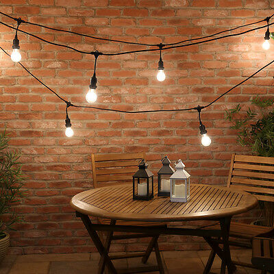 FestoonPro 10m Connectable Outdoor E27 Festoon Drop Belt | Bulb Globe Christmas