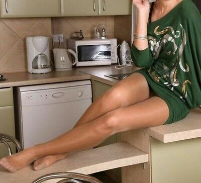 calze, collant, tight, Pantyhose USED. Color Natural