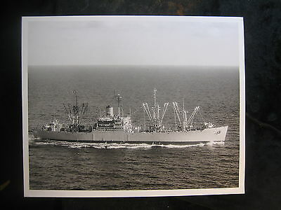 Vintage US Navy 8 x 10 Press Photo USS Chara AE-31 1969 Concord, CA 107