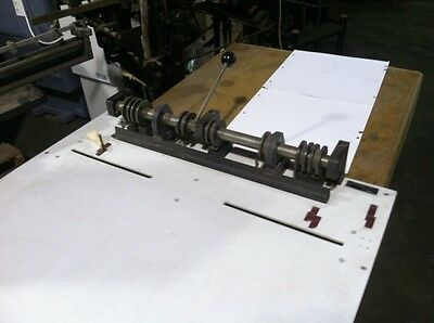 """Carlson Heidelberg Plate Punch """"ALL OFFERS CONSIDERED"""""""
