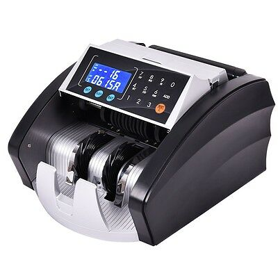 Automatic Professional Cash Money Currency Bill Counter Machine Money Counting