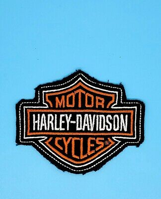 Harley Davidson Hd Logo Embroidery Patch Emblem Shield Authentic