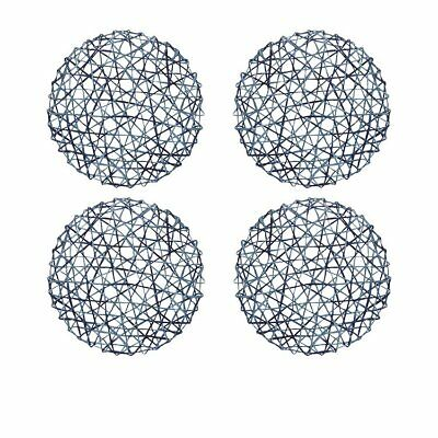 NEW Amalfi Panette Duo Placemat 35cm Set of 4 Blue