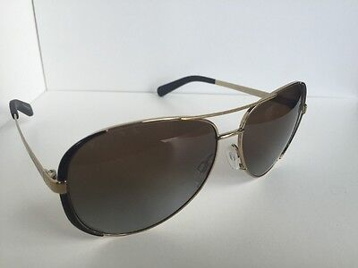 Polarized MICHAEL KORS MK 5004 Chelsea MK5004 1014T5 Gold Black Women Sunglasses