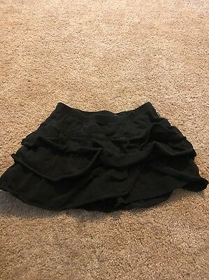 The Children's Place Girls Black Ruffle Skorts Size 14