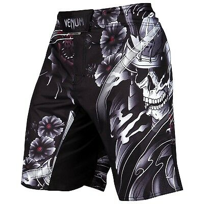 SALE Venum Fight Shorts Samurai Skull schwarz black MMA Muay Thai VENUM-03126