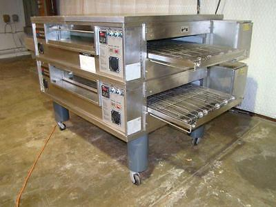 Middleby Marshall Ps570S Nat. Gas Conveyor Pizza Oven.....watch  Video Demo