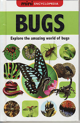 Children's Hardback Educational Book: Mini Encyclopedia - Bugs - Age 7+