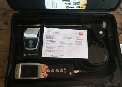 Testo 330-1 LL Bluetooth Flue Gas Analyzer Pro Set w/ Probe & Wireless Printer