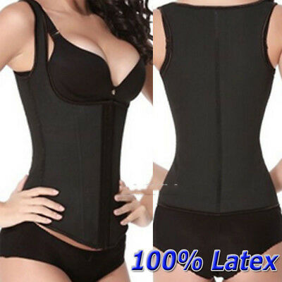 Fajas Reductoras Colombianas LATEX Body Shaper Shapewear Waist Trainer Corset MH