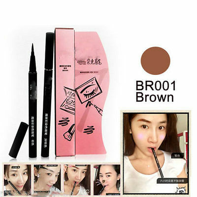 Brown 7 Days Eye Brow Eyebrow Tattoo Pen Liner Long Lasting Makeup Waterproof