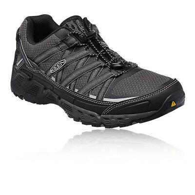 Keen Versatrail Mens Black Trail Lace Up Outdoors Walking Camping Shoes