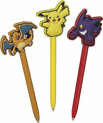 BB Stylus Pokemon 3 pezzi NEW 3DS XL