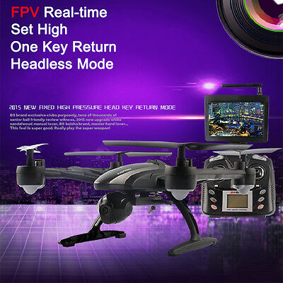 Toys JXD 509G RC Drone Quadcopter with HD Monitor Camera 5.8G FPV Remote Control