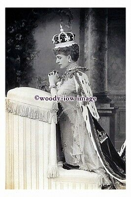 "rs0089 - Queen Alexandra wife of King Edward VII - photograph 6"" x 4"""