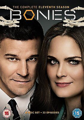 Bones : The Complete 11th Season DVD Region 2  Brand New & Sealed Fast Delivery