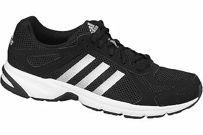 Adidas  Cloudfoam Mens  Duramo 55 M  Running Trainers Shoes  Black Silver