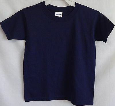 NWOT Size 3T Toddler Navy Blue Short-Sleeve T-Shirt Tee Shirt New Play Low-Cost