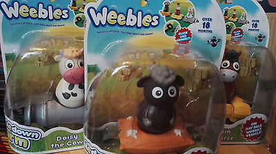 WEEBLES WEEBLEDOWN FARM - Woolaby the Sheep, Dobbin the Horse & Daisy the Cow