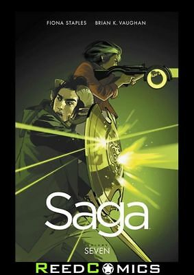 SAGA VOLUME 7 GRAPHIC NOVEL New Paperback Collects Issues #37-42