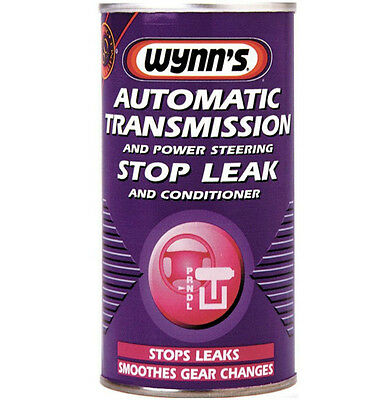 Wynns 64559 Automatic Transmission And Power Steering Stop Leak And Conditioner
