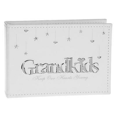 Grandkids Photo Album Brag Book Grandchildren Grandparent Gift 24 Pictures 6x4""