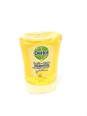 2 x Dettol No Touch Soft On Skin Citrus Handwash Refill 250ml