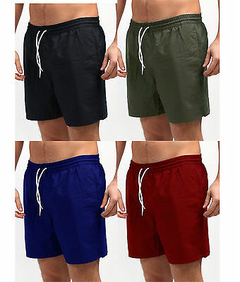 Mens Trunks Swimwear Beach Summer Swimming Board Shorts Boys