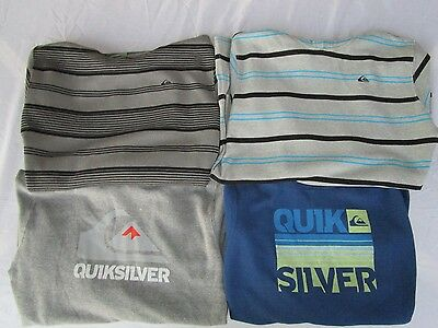 *NWT* QUIKSILVER BOY'S THERMAL LONG SLEEVE HOODIE PULLOVER SHIRT (Variety)