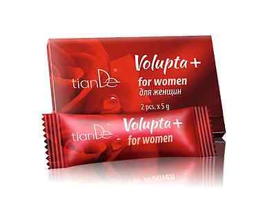 5 packs x TianDe Volupta +, intimate gel for women, 2 pcs. x 5 g