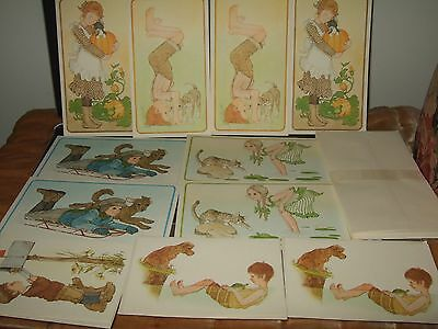 lot 11 ❤❤LINDA K POWELL CAPER CHILDREN❤❤UNUSED CARDs W/ENVELOPEs❤❤CURRENT