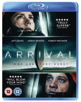 Arrival Blu-ray (2017) Amy Adams
