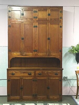 Antique Circa 1890 Butlers Pantry Huge Beautiful Statement Piece Make Offer