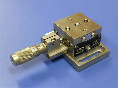 Newport ULTRAlign 461-X-M Linear Translation Stage with SM-13 Micrometer