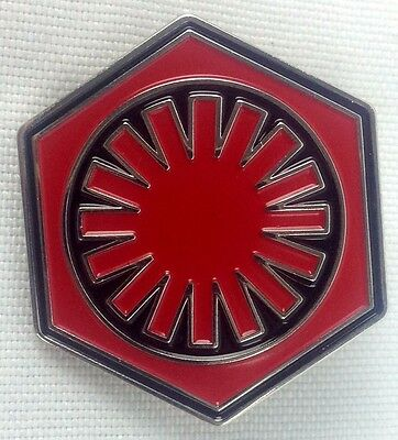 FIRST ORDER  - Star Wars Movie Series - UK Imported Enamel Pin