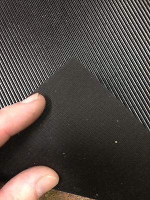 "Corrugated Rubber Pedal Mat Material for Player Piano Foot Pump, 15"" x 12"""