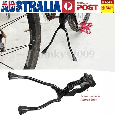 AU Bicycle Bike Kickstand Foot Side Double 2 Leg Stable Parking Kick Stand Mount