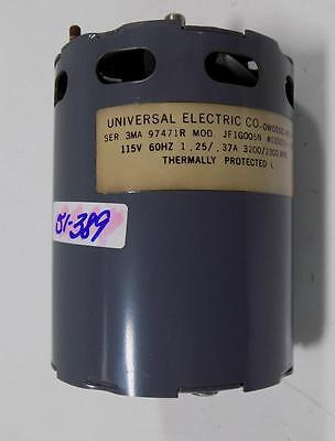 Universal Electric Co. 115V 60Hz 1.25/.37A Blower Motor Jf1G005N