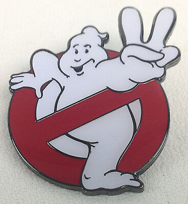 GHOSTBUSTERS 2 - 1989 Movie Logo - Enamel Pin - Bill Murray & Dan Aykroyd