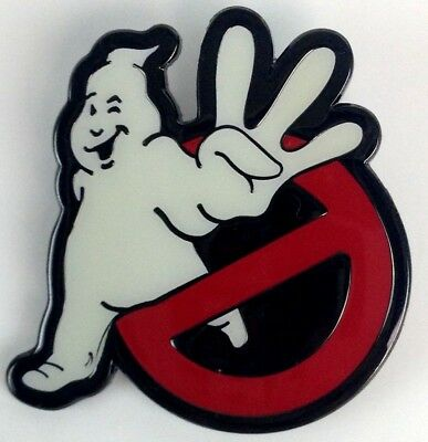 GHOSTBUSTERS 3 - Promo Movie Logo - Enamel Pin - Bill Murray & Dan Aykroyd