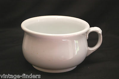 Antique Vintage Alfred Meakin England Chamber Pot by Royal Ironstone China