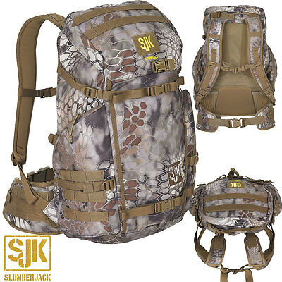 Slumberjack Snare 2000 Backpack- Kryptek Highlander